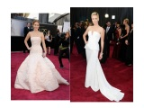 White Hot Oscar Fashion 2013