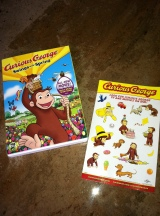 Curious George Swings into Spring: DVDRelease