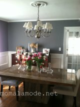 Our Gray-te New Dining Room