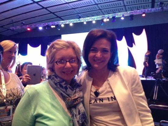 mom a la mode and Sheryl Sandberg