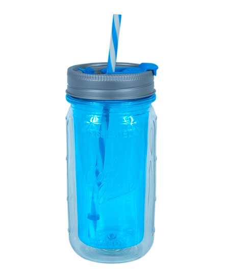 Cool Gear's Mason Jar Sip Bottle -- how cool is that?!