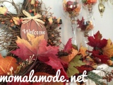 Wordless Wednesday: Decorating a Mantle for Fall