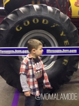 All Revved up for Monster Jam