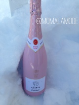 Popping Open Some Pink Bubbly this Valentine's Day