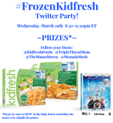 Join Us For a #FrozenKidfresh Twitter Party – 3/19, 8:30pm ET