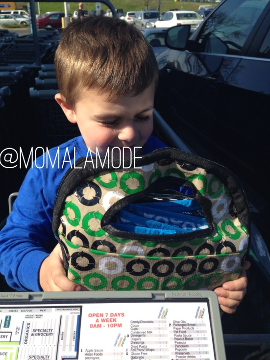 My son LOVES the MY ECO tote -- he's my little helper