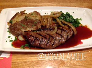 Grilled Vidalia Onion Steak